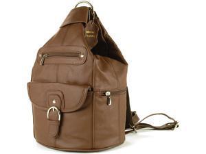 Womens Leather Backpack Purse Sling Shoulder Bag Handbag 3 in 1 Convertible New