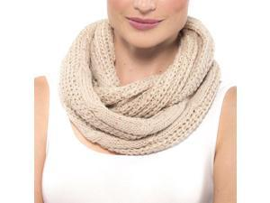 AlpineSwiss Womens Infinity Scarf Sparkly Sequin Neck Loop Wrap Soft Winter Cowl