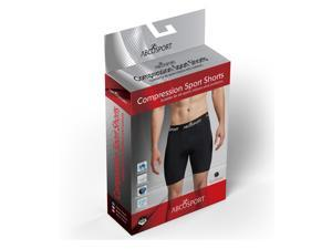 Compression Shorts - Black Smooth Fabric Underwear for Running, Workouts & Sports (Small)