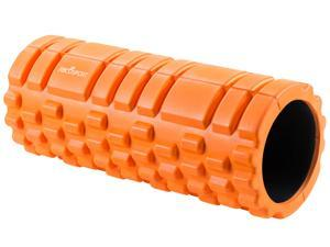 "Foam Roller – Best for Physical Therapy & Exercise for Muscle - Professional Grade - Support Your Body with This Soft Massage Roller – 13"" x 5"" - ORANGE"