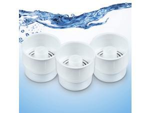 Basily Water Filter Replacement Filters, 3 Count