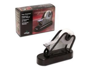 Eldon Expressions Black Mesh Desk Top Tape Dispenser