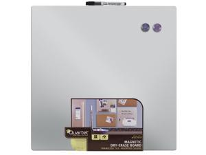 "Quartet Magnetic Frame-less Dry Erase Board, 17"" x 17"", Color May Vary (48116), 1 Each"