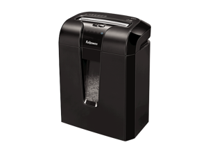 Fellowes Refurbished Powershred 64Cb 10-Sheet Cross-Cut Shredder, 1 Year Warranty