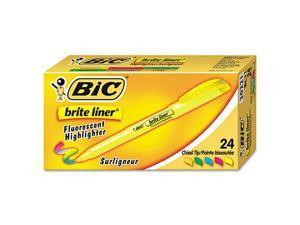 Brite Liner Highlighter Chisel Tip Assorted Ink 24 per Set