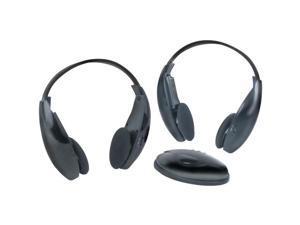 BOSS AUDIO HS-IR WIRELESS HEADPHONES WITH IR & TRANSMITTER