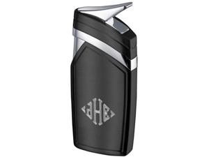 Spark Single Jet Flame Black Matte Lighter - VLR500702