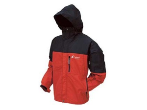 Frogg Toggs Toad-Rage Jacket 2X-RD-BK - NT6601-1102X