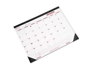 Desk Pad/Wall Calendar, Chipboard, 21-3/4 x 17, 2013 - C1731