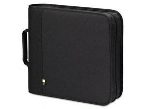 CD/DVD Expandable Binder, Holds 208 Disks, Black - BNB208