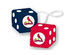 "St. Louis Cardinals MLB 3 Car Fuzzy Dice"" - CSY-2324568024"