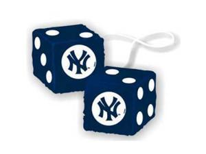 "New York Yankees MLB 3 Car Fuzzy Dice"" - CSY-2324568010"
