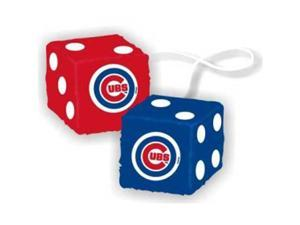 "Chicago Cubs MLB 3 Car Fuzzy Dice"" - CSY-2324568016"