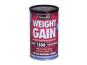 Naturade Weight Gain Vanilla - 16.93 oz
