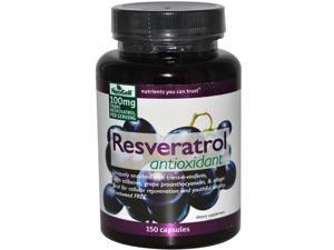 NeoCell Laboratories Resveratrol Antioxidant - 150 Capsules