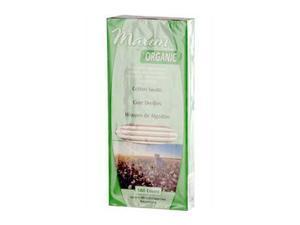 Maxim Hygiene Organic Cotton Swabs - 180 Swabs - HSG-800029