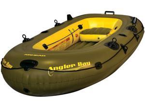AIRHEAD ANGLER BAY Inflatable Boat 4 Person - DSD538600