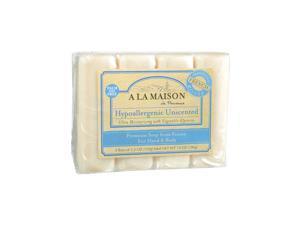 A La Maison Bar Soap Unscented Value Pack - 3.5 oz Each / Pack of 4