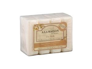 A La Maison Bar Soap - Oat Milk - Value4 Pack - HSG-1015700