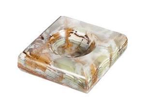 Malachite Marble / Onyx Cigarette Ashtray