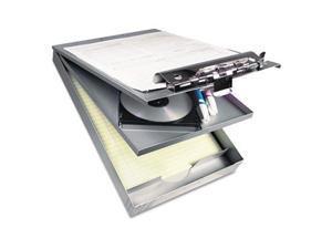 "Cruiser Mate Aluminum Storage Clipboard, 1"" Capacity, 8 1/2 X 12, Silver"