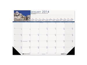 National Monuments Photographic Monthly Desk Pad Calendar, 22 X 17, 20