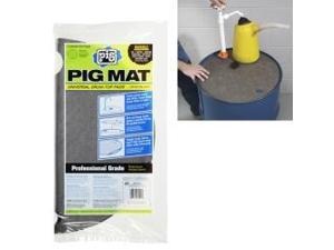 PIG Universal Light-Weight Absorbent Drum-Top Pad (5 Pads per Bag)