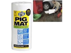 "PIG Water-Rep Oil-Absorbent t-Wt Roll - 15"" x 50'"