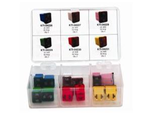 Low Profile Jcase Fuse Assortment - 6 Different Amp Sizes - 12 Piece