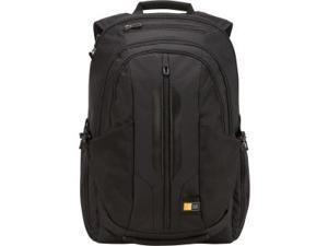"""Case Logic RBP-117 Carrying Case (Backpack) for 17.3"""" Notebook, iPad, Tablet PC Black"""