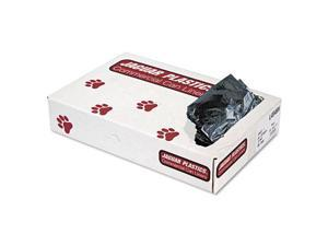 Industrial Strength Can Liners, 45 gal, .7 mil, Black, 100/Carton