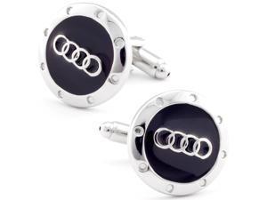 Audi Sports Car Logo Cufflinks