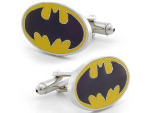 Vintage Batman and Robin Oval Sign Cufflinks