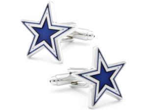 Dallas Blue Star Cufflinks