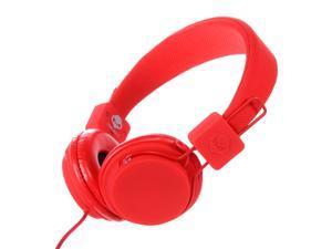 Subjekt TNT-QM1252 40mm Headphones with Mic - Red