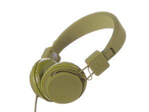 Subjekt TNT-QM1259 40mm Headphones with Mic - Green