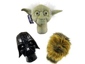 Star Wars 3pc Collector Series Hybrid Golf Head Cover Set