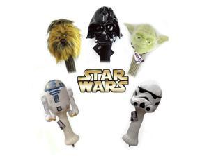 Star Wars 5SWDHS 5pc Collector Series 460cc Driver Golf Head Cover Set