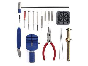 16pc Watch Repair Tool Kit for Opening Watch Backs, Removing and Repairing Bands or Links, and More!