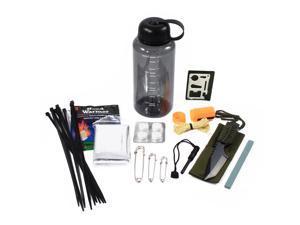 26pc Emergency Camping Bottle Kit