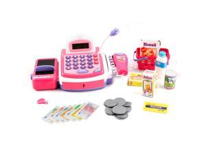 Pretend Play Electronic Cash Register - Pink