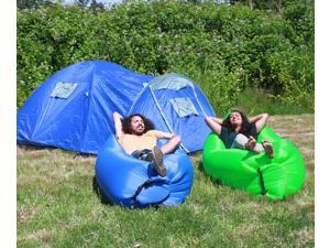 LoungeSak Hangout Breeze Inflatable Travel Lounge - Blue