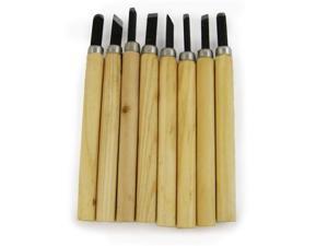 8pc Wood Carving Chisels Set