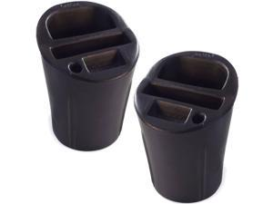2-Pack Universal Car Cup Holder Cell Phone Organizer