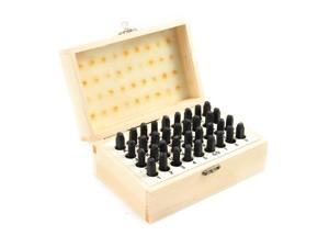 """36pc 5mm 3/16"""" Numbers & Letters Marking Stamps Set"""