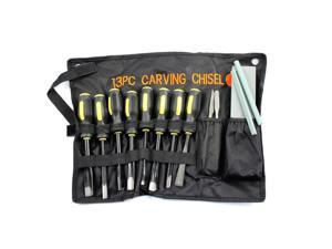 13pc Professional Wood Carving Chisel Set