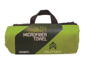 McNett Outgo Ultra Absorbent Compact Microfiber Medium Towel - Green