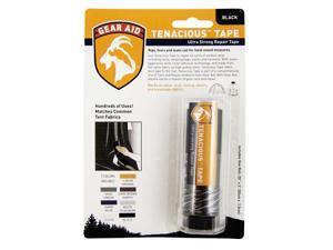 Gear Aid Tenacious Tape Repair Tape Black