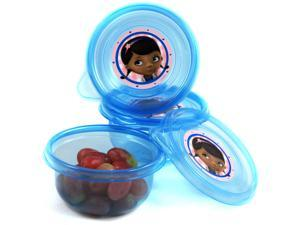3pk Doc McStuffins Small Snack Containers
