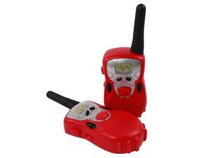 Kids Walkie Talkies Two-Way Radio Set - Red
